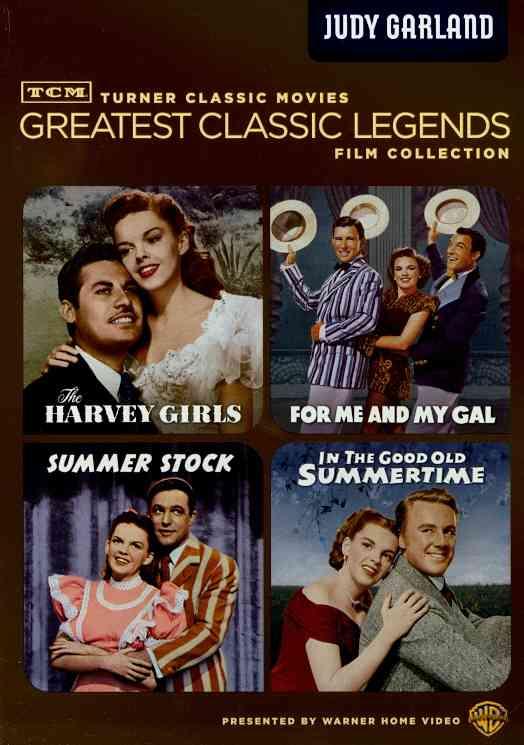 TCM GREATEST:LEGENDS JUDY GARLAND BY GARLAND,JUDY (DVD)